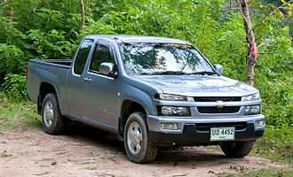 Chevrolet Colorado - Chevrolet Colorado in Thailand.