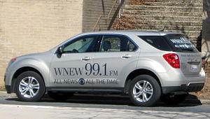 WDCH-FM - A WNEW Chevrolet Equinox news vehicle