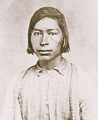 Chickasaw youth, c. 1868.