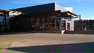 Chickasaw Cultural Center - Chickasaw Cultural Center, theater building