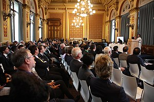 Mamata Banerjee - Mamata Banerjee, Chief Minister Government of West Bengal speaking at an event in London.