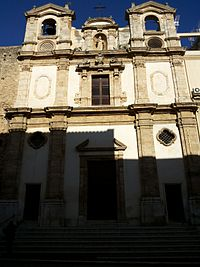 Façade of Saints Paul and Bartholomew's Church