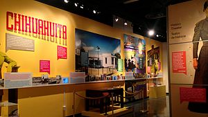 Chihuahuita - Chihuahuita exhibit at the El Paso Museum of History which opened in 2014.