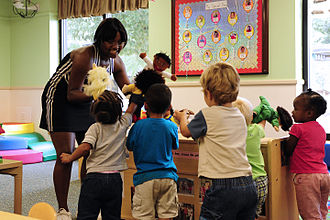Child care - An American childcare development center