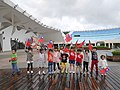 Children with ROC flags at Expo Dome 20141010c.jpg