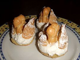 Choux pastry swans.jpg