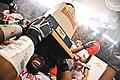 Chris Donaldson lifts the Alamo Bowl trophy (5671011672).jpg