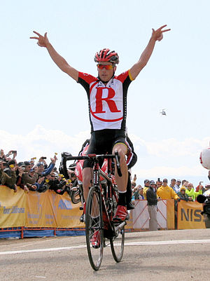 Chris Horner - Horner won the fourth stage of the 2011 Tour of California, before taking overall victory.