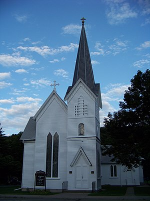 Christ Episcopal Church (Wellsburg, New York) - Image: Christ Episcopal Church Wellsburg