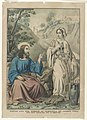 Christ and the woman of Samaria at Jacob's Well- Jesus Christ S'Entretient avec la Samaritaine. John IV - 1-42 LCCN90715946.jpg