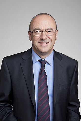 Christopher Bishop - Chris Bishop at the Royal Society admissions day in London, July 2017