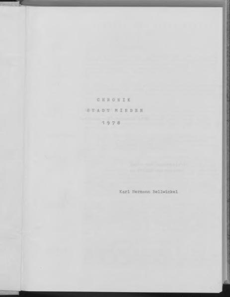 File:Chronik der Stadt Minden, 1978.djvu