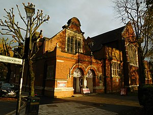 St Michael and All Angels, Bedford Park - Image: Church Hall St Michael and All Angels Bedford Park