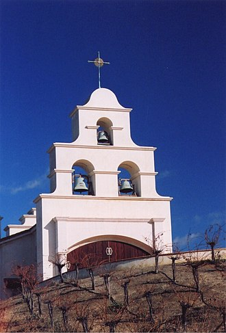 History of Christianity in the United States - A Christian church in Shandon, California.
