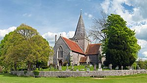 Alfriston - St Andrew's Church.