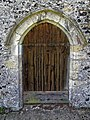 Church of St Mary the Virgin, Eastry, Kent - north door.jpg