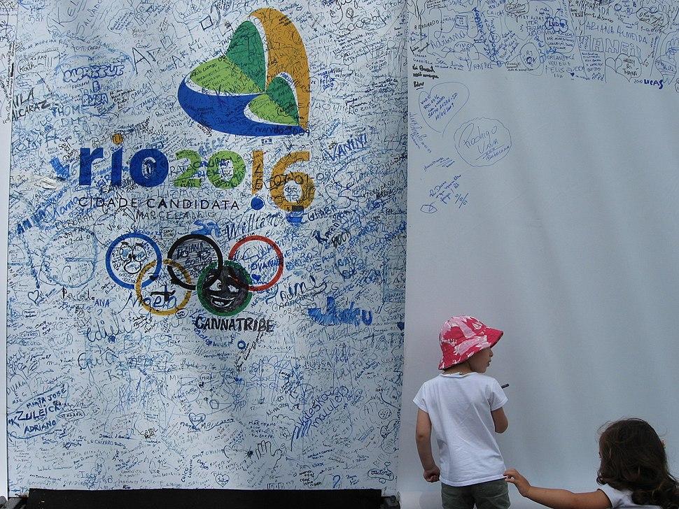 Cidade Candidata (Rio de Janeiro for the 2016 Olympic Games)