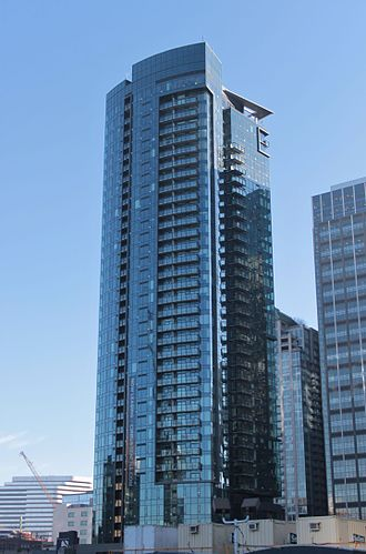 Cirrus (Seattle building) - Image: Cirrus from 7th & Blanchard (23257327589)