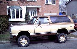 Un Dodge Ramcharger prima serie (1974–1980)