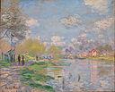 Claude Monet - Spring by the Seine - Google Art Project.jpg