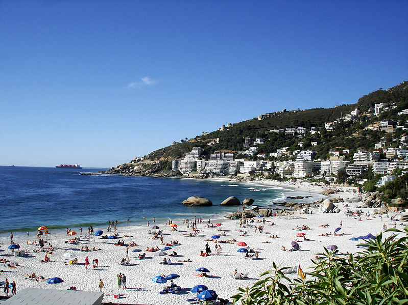 clifton 4th beach, cape town