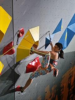 Ashima Shiraishi American-Japanese rock climber