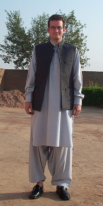 Pashtun clothing - Image: Clothing worn by most Pashtun males