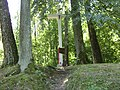 Cmentarz wojskowy z I wojny światowej i II wojny światowej w Dąbrowie Tarnawackiej koło Tarnawatki.jpg