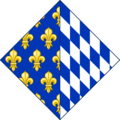 CoA of Isabeau of Bavaria (rhombus).png