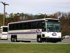 Orange County, New York - Short Line Bus provides most local and commuter bus service.