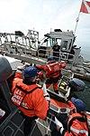 Coast Guard conducts gold dredge boardings in Nome, Alaska 140803-G-YE680-669.jpg