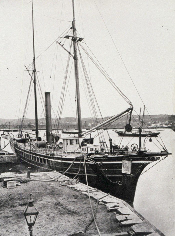 Coast and Geodetic Survey steamer BLAKE Washington Navy Yard