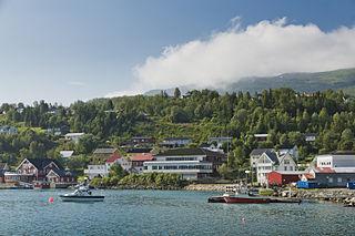 Lyngseidet Village in Northern Norway, Norway