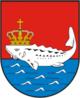 Stör im Wappen von Baltijsk
