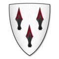 Coat of Arms of NEFYDD HARDD, of Caernarvonshire, Lord of Nant Conway.png