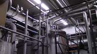 File:Coating kitchen - basement and sound of screw pumps.webm