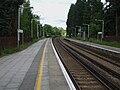 Cobham & Stoke D'Abernon stn look north2.JPG