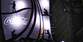 Coca-Cola sign - Image: Cokesign 09