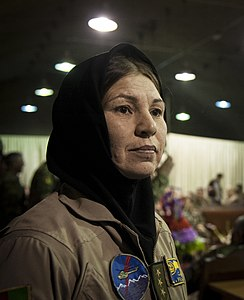 Col. Latifa Nabizada exits the stage.jpg
