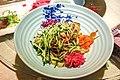 Cold oat noodles at Shanxi Guild Hall (20170929190149).jpg