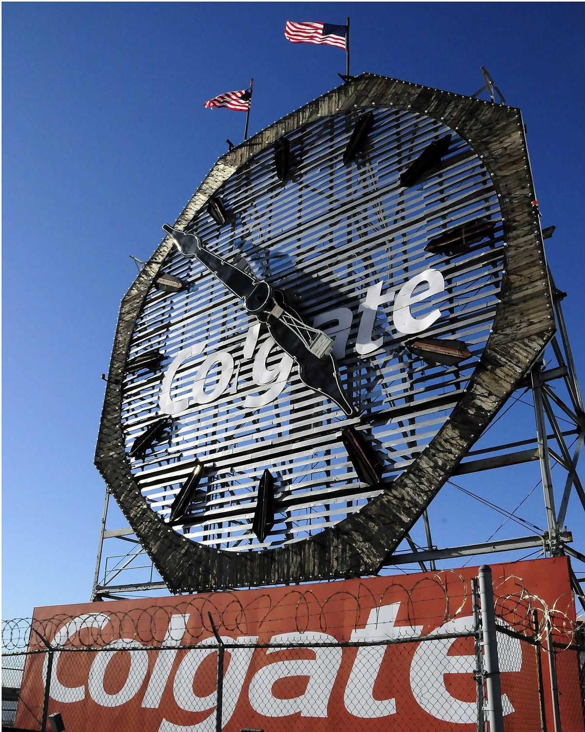 Colgate clock jersey city wikipedia for Build on your lot new jersey