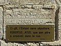Collégiale Saint-Paul, plaque (Hyères).jpg