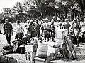 Collectie NMvWereldculturen, TM-60042242, Foto- 1 st Auxiliary (Papoean) Battaljon van het R.N.S. leger--, 1940-1950.jpg