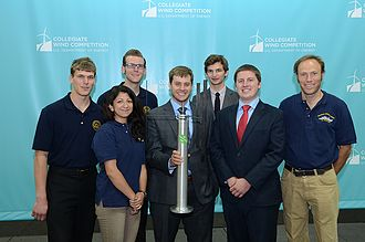 California State University Maritime Academy - For the Collegiate Wind Competition 2014, California Maritime Academy developed a small-scale wind turbine.