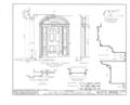 Colonel Charles Williamson House, 839 South Main Street, Geneva, Ontario County, NY HABS NY,35-GEN,2- (sheet 7 of 13).png