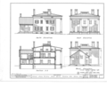Colonel Simon Perkins House, Maple Street, Akron, Summit County, OH HABS OHIO,77-AKRO,1- (sheet 2 of 3).png
