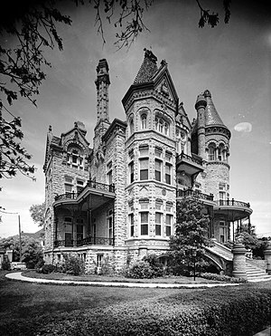 Colonel Walter Gresham House, 1402 Broadway, G...