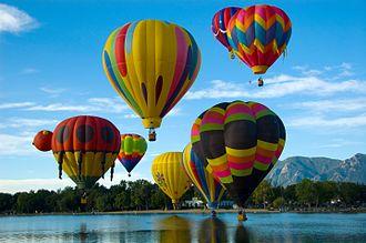 Parks in Colorado Springs, Colorado - Colorado Balloon Classic, Colorado Springs Hot Air Balloon Competition, Memorial Park