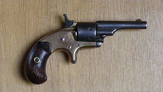 Colt Open Top Pocket Model Revolver