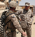 Commandant, Sergeant Major of the Marine Corps Visit 1st MLG Marines in Afghanistan DVIDS311563.jpg